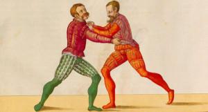 """Paulus Hector Mair - """"Arte Athletica"""" 1540 - Ringen"""